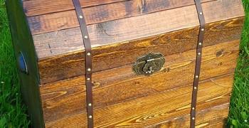 Декоративный сундук своими руками. Из дерева, картона или бумаги