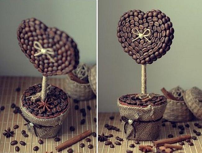 Кофейное дерево (топиарий) своими руками: 100 лучших идей с фото