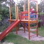 Детская площадка своими руками. Лучшие пошаговые инструкции