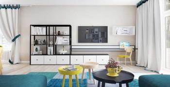 Белая гостиная. Мебель в белой гостиной. Лучшие решения для белой гостиной