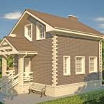Дом из пеноблоков своими руками. Пошаговое строительство с фото