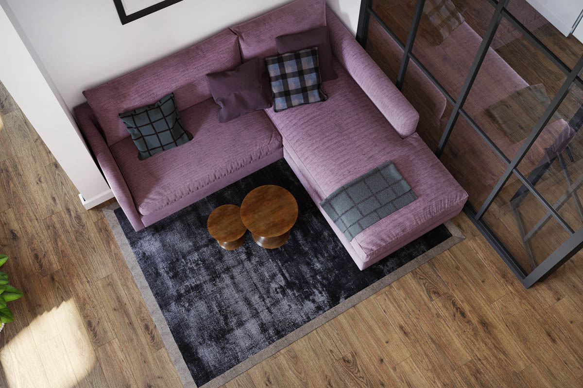 Purple-modern-sofa
