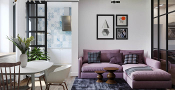 Современный дизайн гостиной 2019. Фото