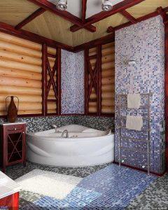 Выбор места для санузла в деревянном доме