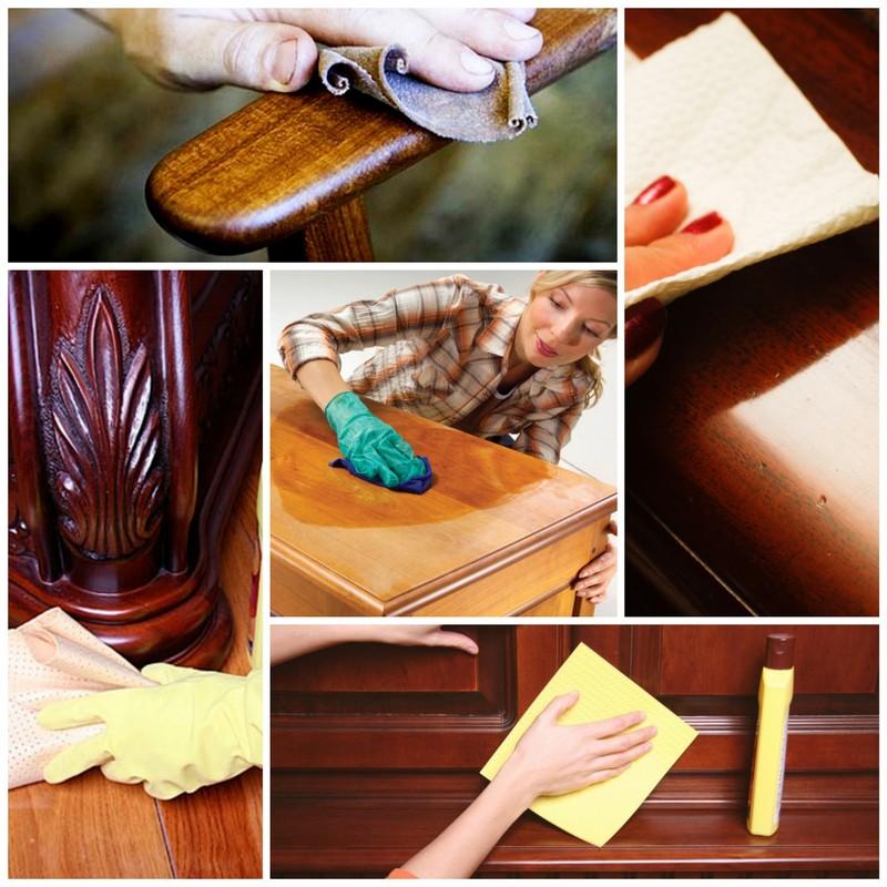 Как ухаживать за деревянной мебелью 4