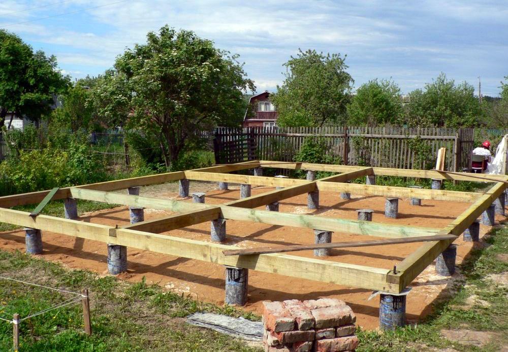 Фундамент для дома из бруса. Какой лучше выбрать?