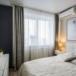 Дизайн гостиной-спальни 18 кв.м в одной комнате