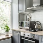 Дизайн квартиры 30 кв. м с кухней ИКЕА