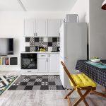 Дизайн квартиры студии 30 кв. метров в скандинавском стиле