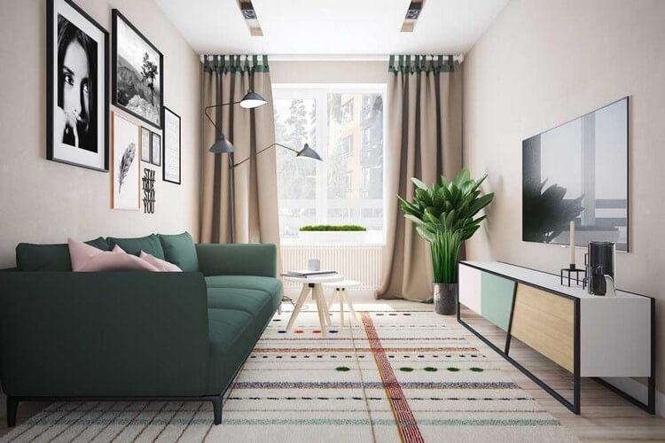 Дизайн современной гостиной 2