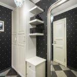 Дизайн студии 30 кв. м. в классическом стиле