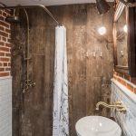 Душевая в ванной комнате без кабины (достоинства и недостатки)