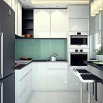 Использование подоконника на маленькой кухне