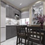 Кухня маленькая 5 кв м дизайн