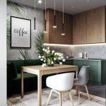 Маленькая гостиная зона на кухне