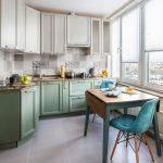 Оптимальная цветовая гамма для маленькой кухни