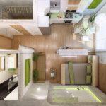 Планировки студии 30 кв