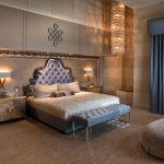 Дизайн спальни в классическом стиле в приглушенных тонах