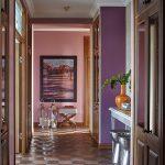Фиолетовые и коричневые цвета в дизайне