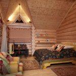Русский стиль в деревянном доме