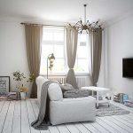 Дизайн спальни-гостиной в стиле лофт