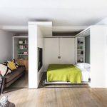 Дизайн гостиной-спальни в современном стиле