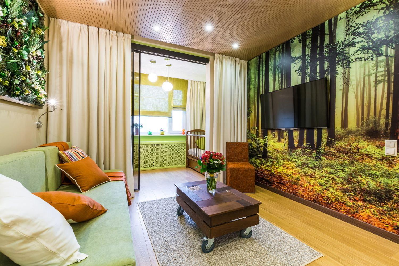Как правильно зонировать комнату на спальню и гостиную