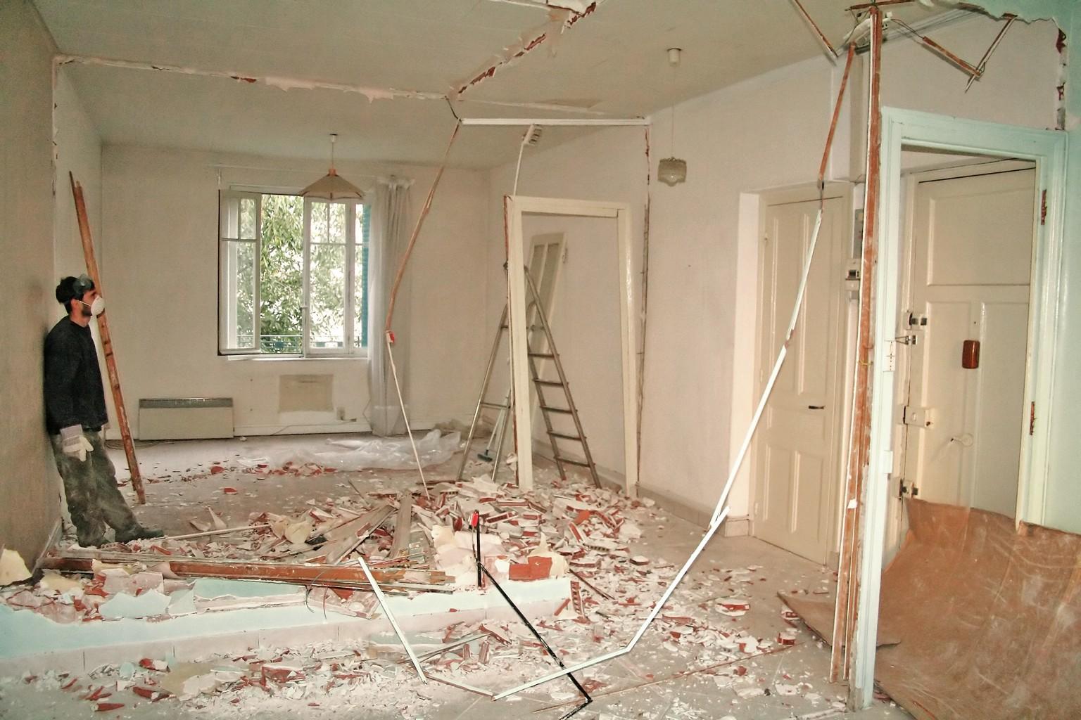 как я делал ремонт частного дома фото