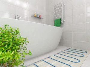 Нужен ли электрический теплый пол в ванной комнате?