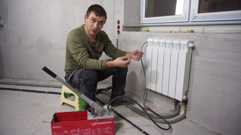 Основные правила замены старого радиатора отопления