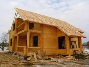 """Строительство домов под ключ от """"Студии Клеёного Бруса"""""""