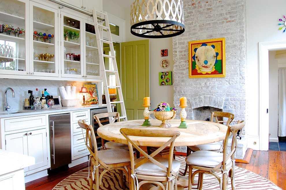 Кухня в эклектичном стиле
