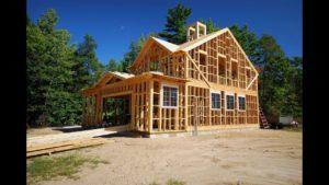 Строительство каркасного дома. Быстро и недорого