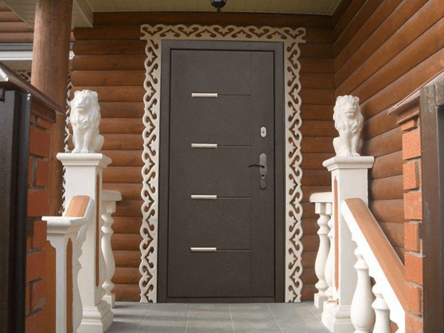 Выбираем входные двери: критерии качества и дизайн