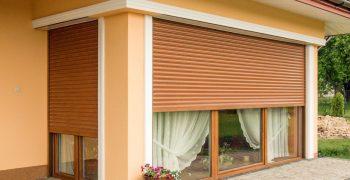 Защита окон в дома - внешние рольставни и их преимущества