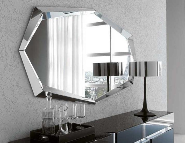 зеркало в виде многоугольника