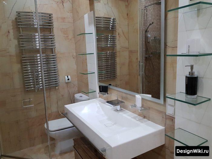 Современный излив смесителя для ванной комнаты Современный дизайн ванной комнаты