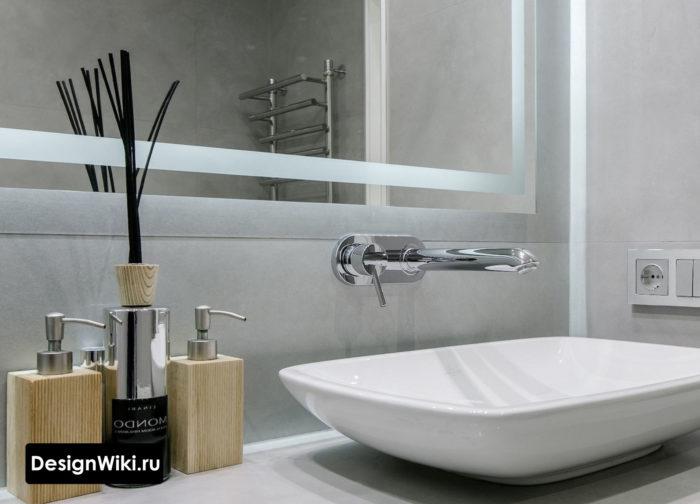 Идея - Встраиваемый смеситель для современной ванной комнаты