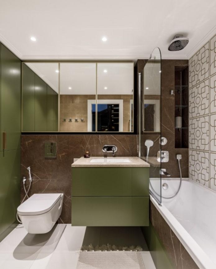 ванная комната с оливками
