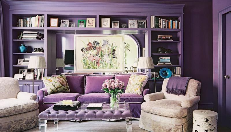 Пурпурная гостиная 18 кв.м. 1