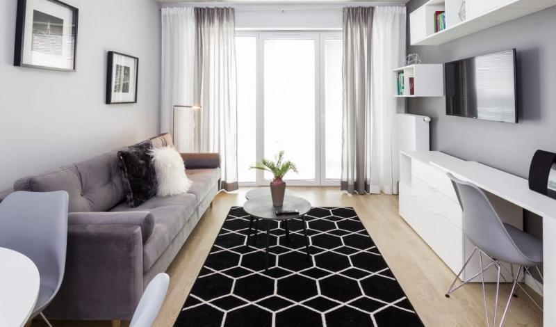 18 м² гостиная 18 м² рабочее пространство 4