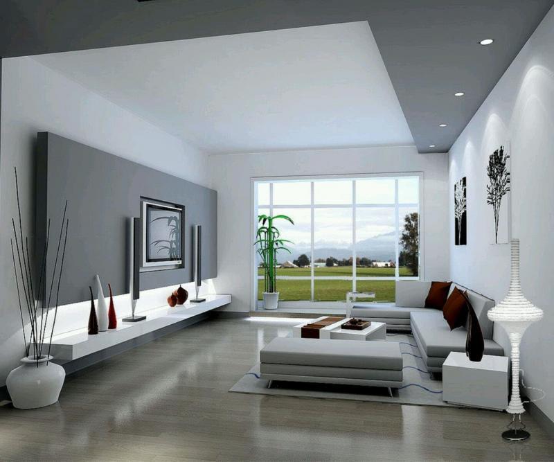Гостиная 18 м² современный стиль 3
