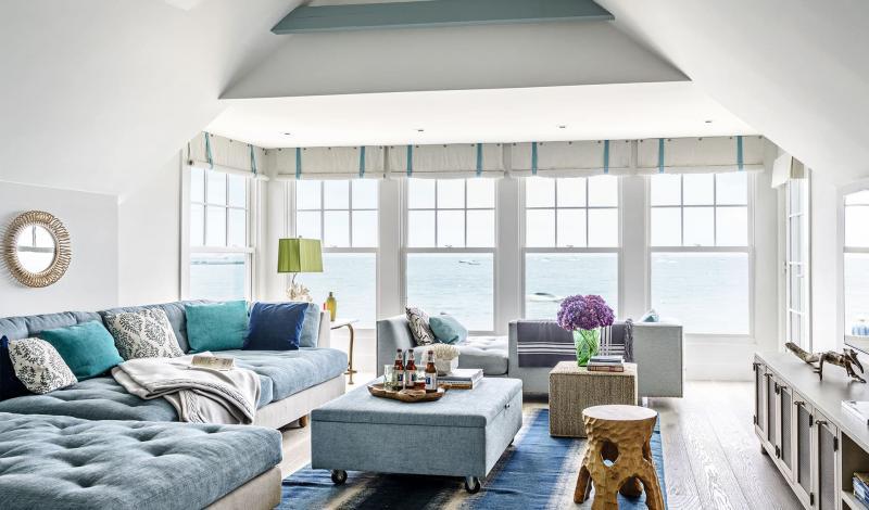18 м² Гостиная 18 м² с угловым диваном-кроватью 1