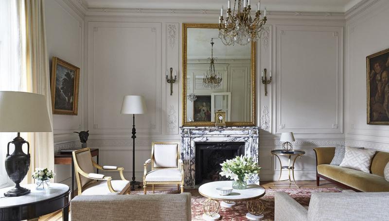18 м² классический стиль Гостиная 3