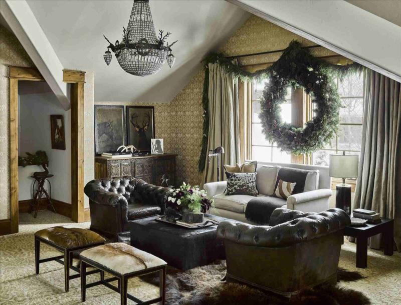 18 м² классический стиль Гостиная 4