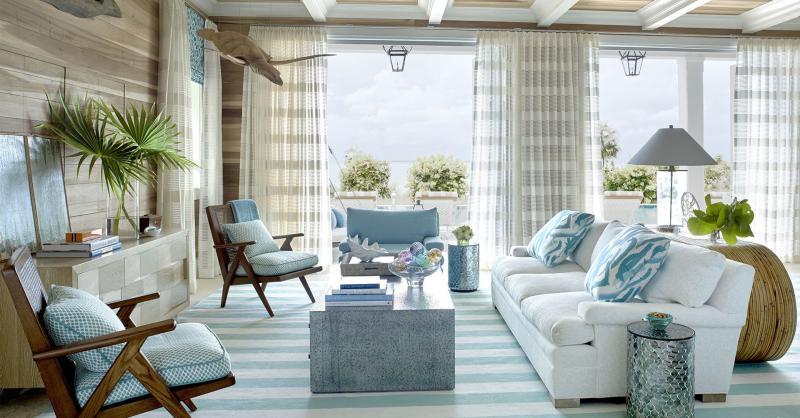 Гостиная 18 кв.м. Средиземноморский стиль 2