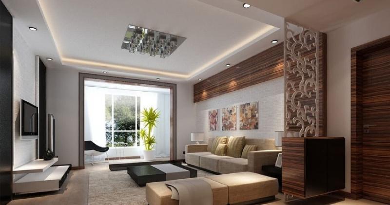 Гостиная 18 м² с балконом 5