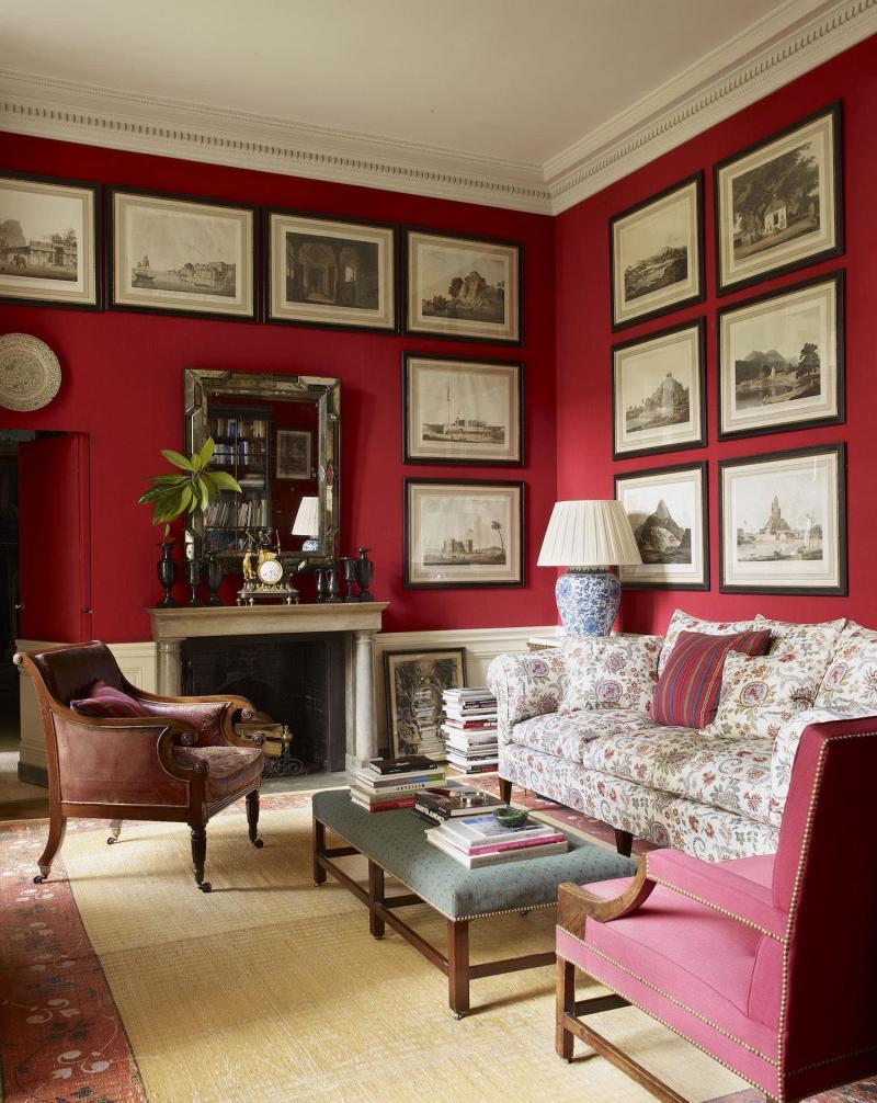 Красная гостиная 18 кв.м 3