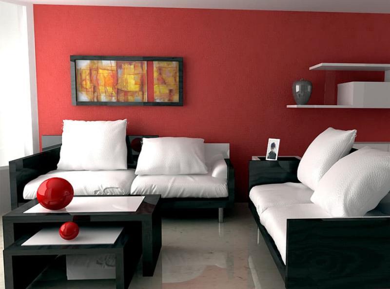 Красная гостиная 18 кв.м 4