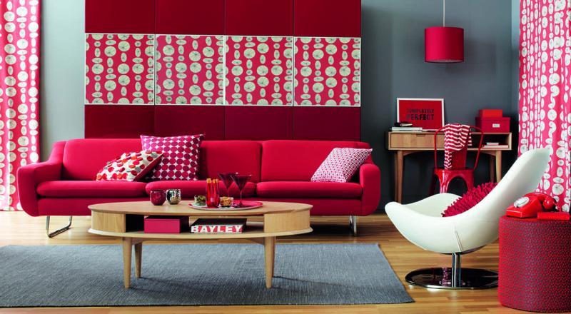 Красная гостиная 18 кв.м. 5
